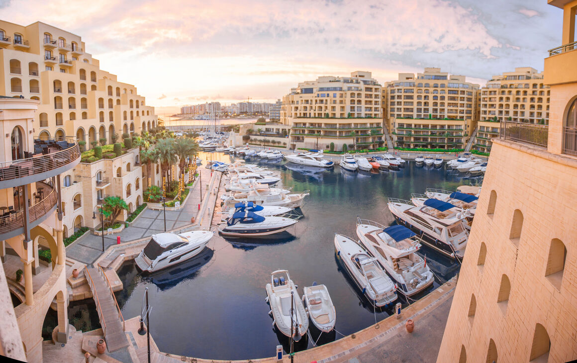 Marina panorama - Malta