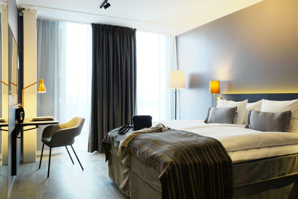 Room at Scandic Continental. © 2016 Elin Strömberg