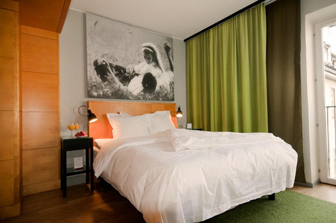 Room at Hotel Rival